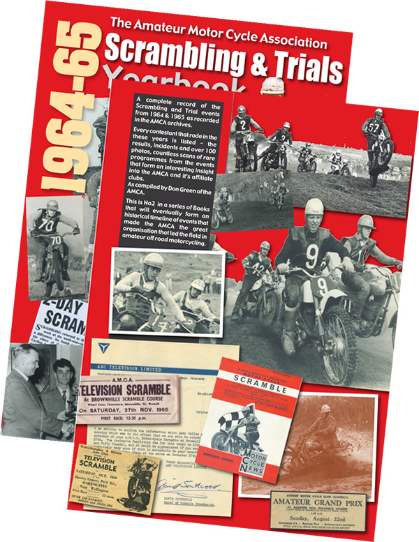 1971 scrambling trials yearbook cover